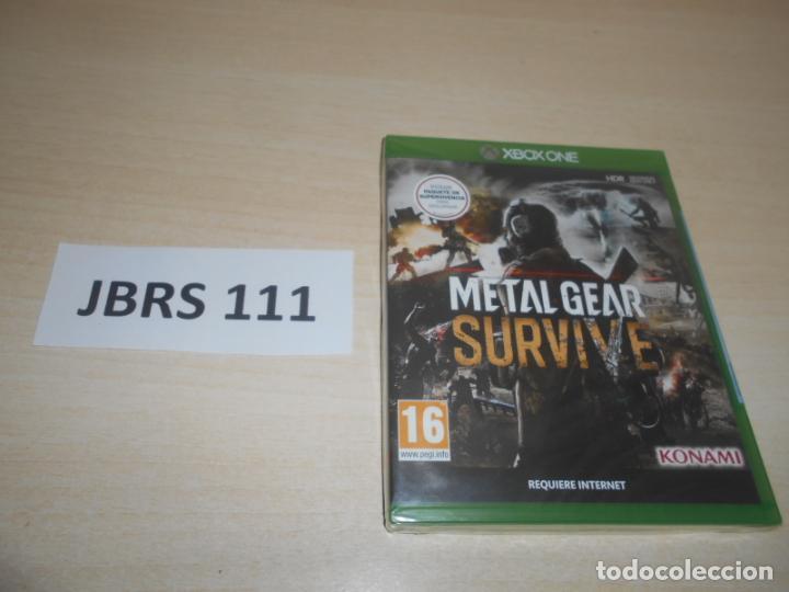 XBOX ONE - METAL GEAR SURVIVE , PAL ESPAÑOL , PRECINTADO (Juguetes - Videojuegos y Consolas - Xbox One)
