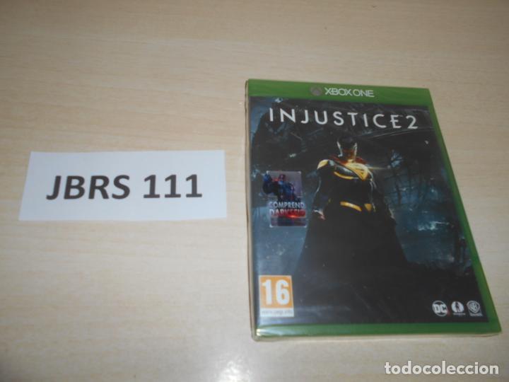 XBOX ONE - INJUSTICE 2 , PAL UK , PRECINTADO (Juguetes - Videojuegos y Consolas - Xbox One)