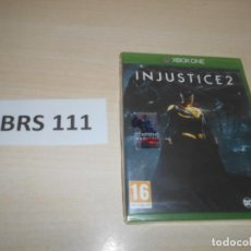 Xbox One: XBOX ONE - INJUSTICE 2 , PAL UK , PRECINTADO. Lote 239952775
