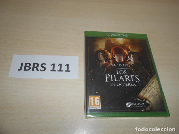 XBOX ONE - LOS PILARES DE LA TIERRA , PAL ESPAÑOL , PRECINTADO (Juguetes - Videojuegos y Consolas - Xbox One)