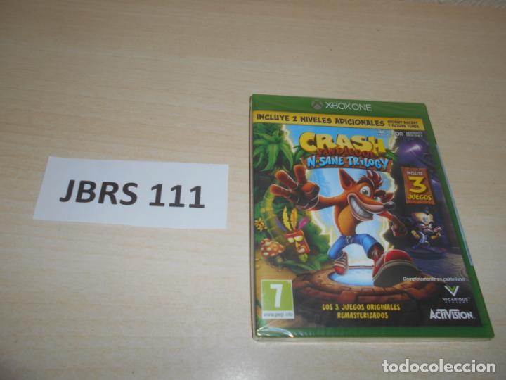 XBOX - CRASH BANDICOOT N-SANE TRILOGY , PAL ESPAÑOL , PRECINTADO (Juguetes - Videojuegos y Consolas - Xbox One)