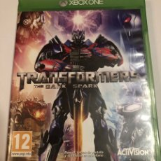 "Xbox One: XBOX ONE TRANSFORMERS THE DARK SPARK"" COMO NUEVO"". Lote 242061685"