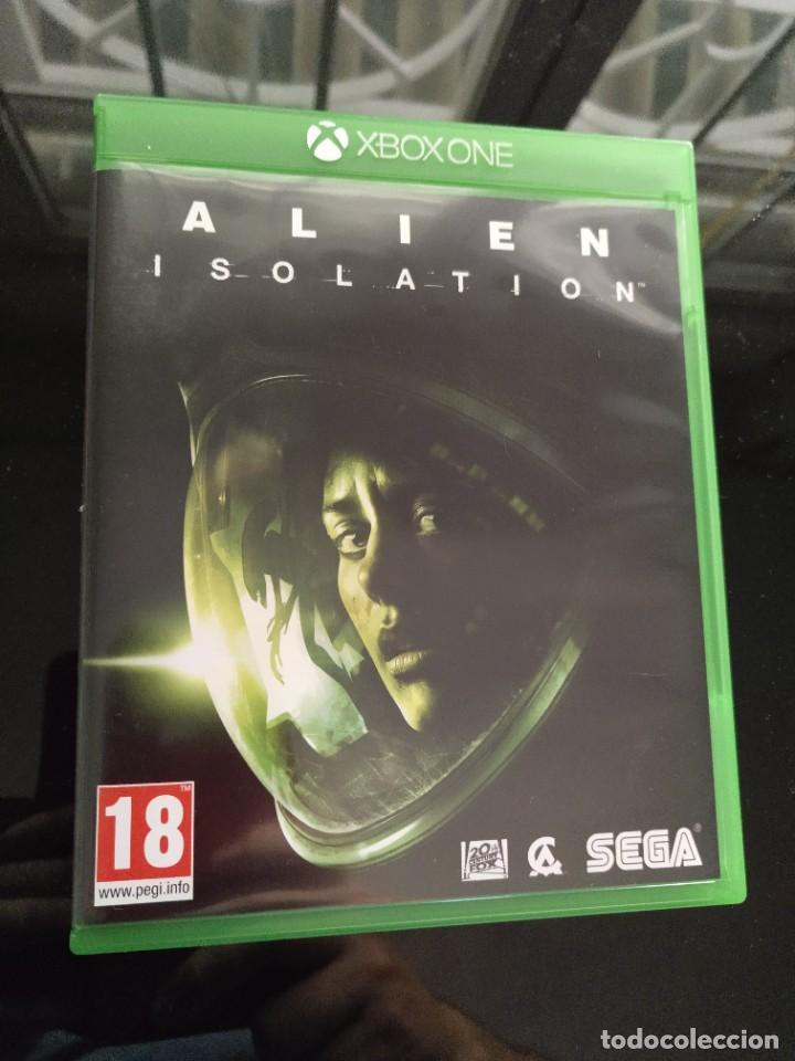 ALIEN ISOLATION XBOX ONE - PAL ESPAÑA - COMO NUEVO (Juguetes - Videojuegos y Consolas - Xbox One)