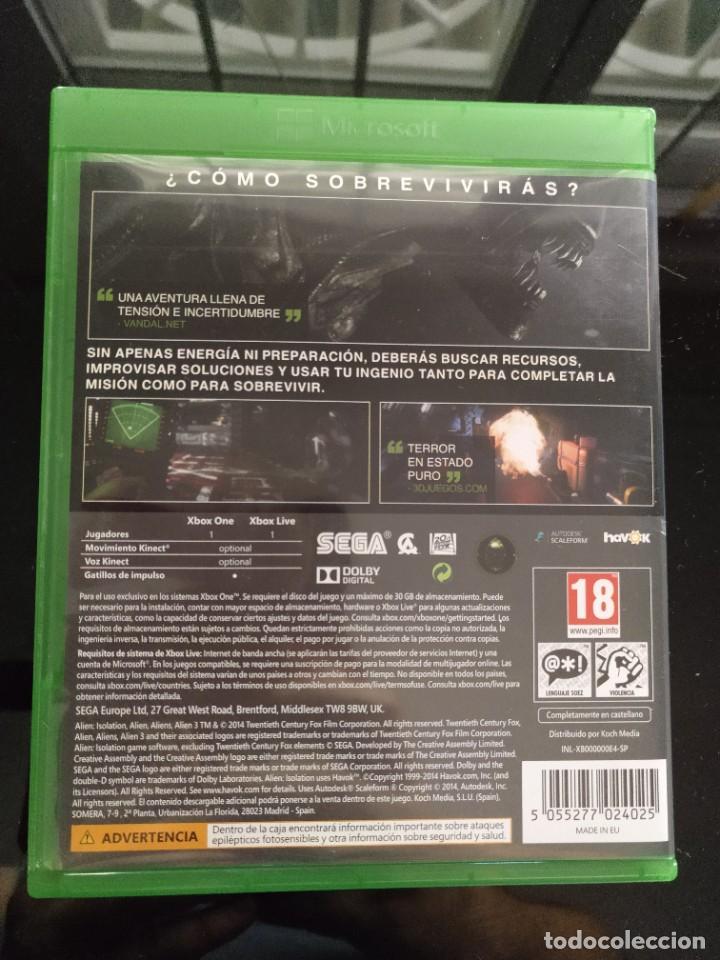 Xbox One: ALIEN ISOLATION Xbox One - PAL ESPAÑA - Como nuevo - Foto 2 - 247798350