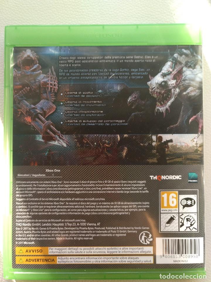 Xbox One: Elex Xbox One - COMO NUEVO - PAL ESPAÑA - Foto 2 - 247808650