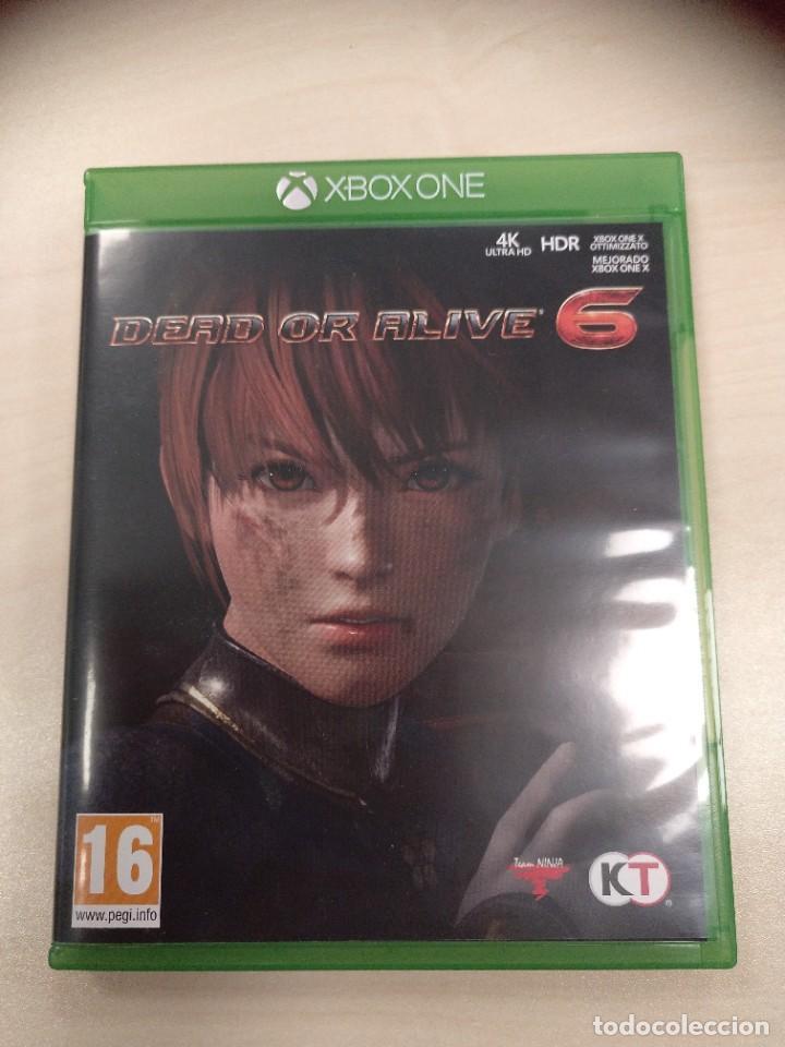 DEAD OR ALIVE 6 XBOX ONE - PAL ESPAÑA (Juguetes - Videojuegos y Consolas - Xbox One)