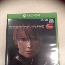 Xbox One: DEAD OR ALIVE 6 XBOX ONE - PAL ESPAÑA. Lote 247810510