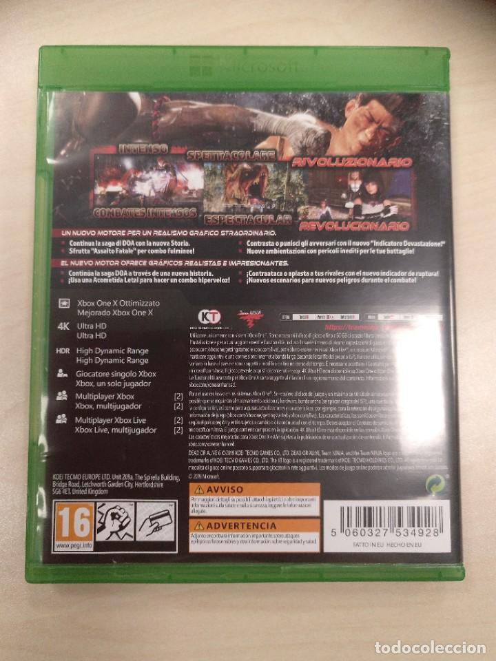 Xbox One: Dead Or Alive 6 Xbox One - PAL ESPAÑA - Foto 2 - 247810510