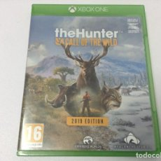 Xbox One: THE HUNTER CALL OF THE WILD 2019 EDITION. Lote 249180750