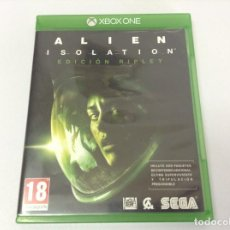 Xbox One: ALIEN ISOLATION EDICION RIPLEY. Lote 252178875