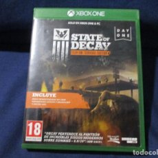 Xbox One: XBOX ONE - STATE OF DECAY / PAL ESPAÑA. Lote 255932490