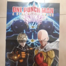 Xbox One: POSTER DOBLE ONE PUNCH MAN 68X48 NUEVO. Lote 260674965