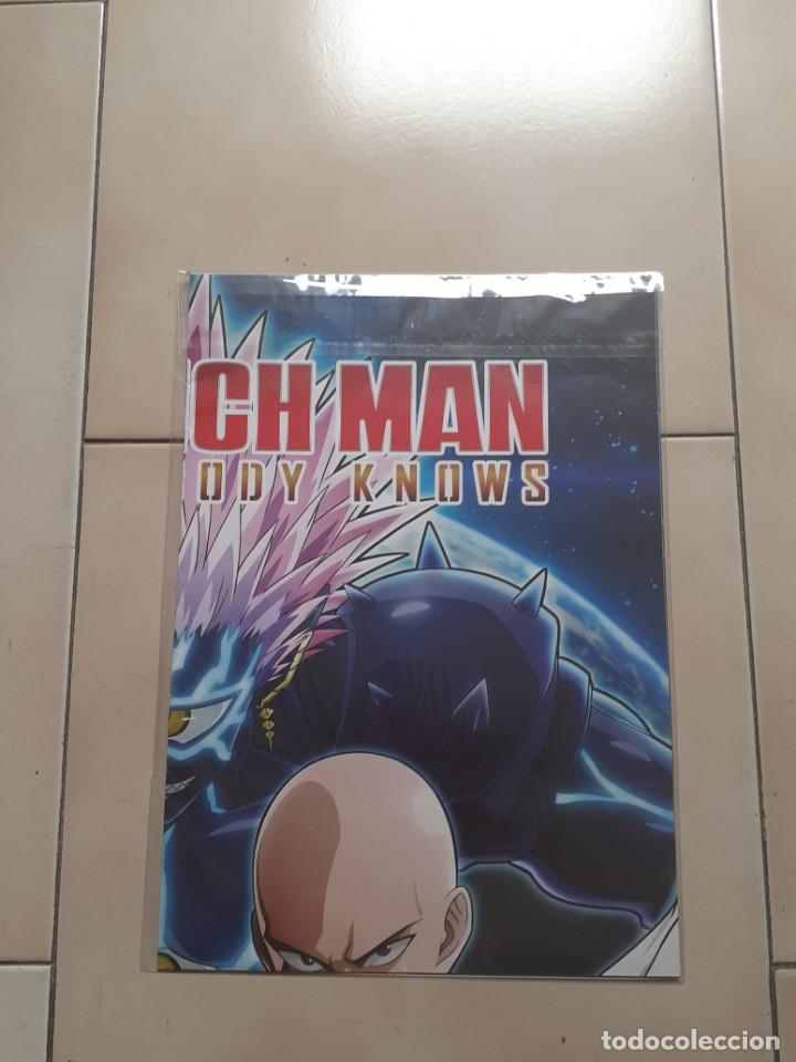 Xbox One: Poster doble One Punch Man 68x48 Nuevo - Foto 3 - 260674965