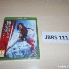 Xbox One: XBOX ONE - MIRRO,S EDGE CATALYST , PAL UK , PRECINTADO. Lote 261944590