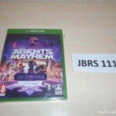Xbox One: XBOX ONE - AGENTS MAYHEM , PAL UK , PRECINTADO. Lote 261944645