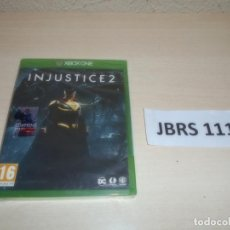 Xbox One: XBOX ONE - INJUSTICE 2 , PAL UK , PRECINTADO. Lote 261944675