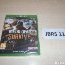 Xbox One: XBOX ONE - METAL GEAR SURVIVE , PAL ESPAÑOL , PRECINTADO. Lote 261944830