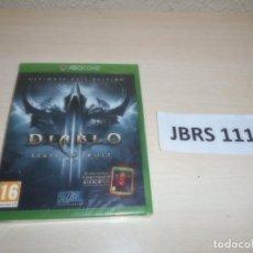 Xbox One: XBOX ONE - DIABLO III REAPER OF SOULS - ULTIMATE EVIL EDITION , PAL ESPAÑOL , PRECINTADO. Lote 261945060