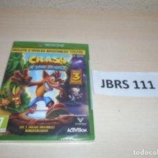 Xbox One: XBOX ONE - CRASH BANDICOOT N-SANE TRILOGY , PAL ESPAÑOL , PRECINTADO. Lote 261945270