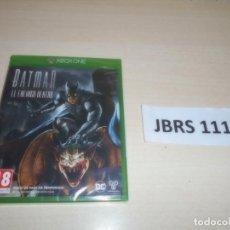 Xbox One: XBOX ONE - BATMAN - EL ENEMIGO DENTRO , PAL ESPAÑOL , PRECINTADO. Lote 261945860