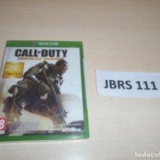 Xbox One: XBOX ONE - CALL O DUTY ADVANCED WARFARE , PAL ESPAÑOL , PRECINTADO. Lote 261946225