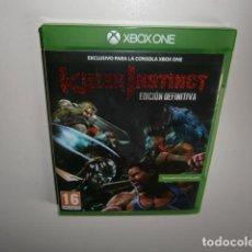Xbox One: KILLER INSTINCT DEFINITIVE EDITION XBOX ONE. Lote 266868384