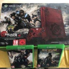 Xbox One: XBOX ONE GEARS OF WAR 4 MÁS 2 JUEGOS. Lote 266941964
