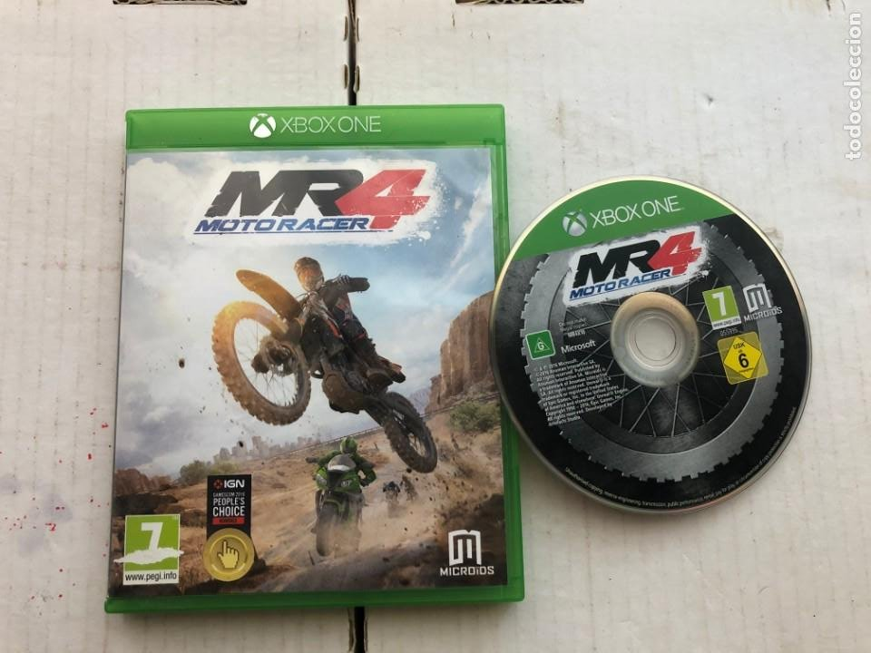 MOTORACER 4 MOTO RACER - MICROSOFT XBOX ONE XONE KREATEN (Juguetes - Videojuegos y Consolas - Xbox One)