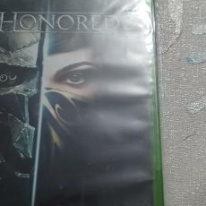 Xbox One: DISHONORED 2 XBOX ONE. Lote 275613033