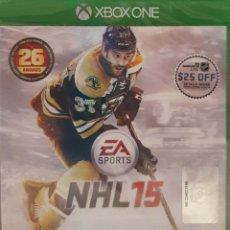 Xbox One: NHL 15 XBOX ONE (NTSC-USA), COMPATIBLE EN CONSOLAS PAL. NUEVO, PRECINTADO. JUEGO DE HOCKEY.. Lote 276167718