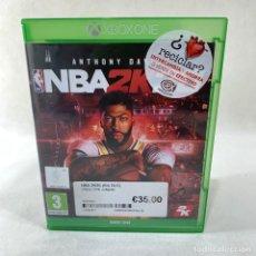Xbox One: VIDEOJUEGO XBOX ONE - NBA 2K20 + CAJA + INSTRUCCIONES. Lote 276395068