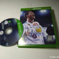 Xbox One: FIFA 18 ( XBOX ONE - PAL - UK ). Lote 285077103