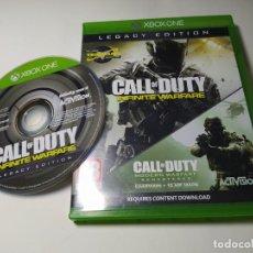 Xbox One: CALL OF DUTY INFINITE WARFARE ( XBOX ONE - PAL - UK ). Lote 285077618