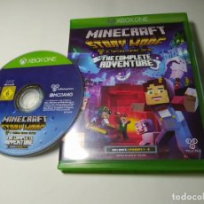 Xbox One: MINECRAFT STORY MODE THE COMPLETE ADVENTURES ( XBOX ONE - PAL - UK ). Lote 285077923