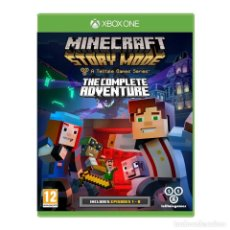 Xbox One: MINECRAFT STORY MODE COMPLETE ADVENTURE - XBOX ONE. Lote 285827318