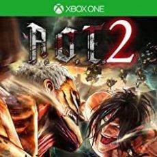 Xbox One: ATTACK ON TITAN 2 - XBOX ONE (2ª MANO - BUENO). Lote 288427788