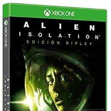 Xbox One: ALIEN: ISOLATION - EDICIÓN RIPLEY XBOX ONE (2ª MANO - BUENO). Lote 288427798
