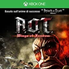 Xbox One: ATTACK ON TITAN WINGS OF FREEDOM - XBOX ONE (2ª MANO - BUENO). Lote 288427803
