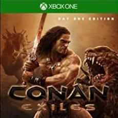 Xbox One: CONAN EXILES D1 EDITION - XBOX ONE (2ª MANO - BUENO). Lote 288427813