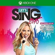 Xbox One: LETS SING 2016 + MICROFONOS - XBOX ONE (2ª MANO - BUENO). Lote 288427913