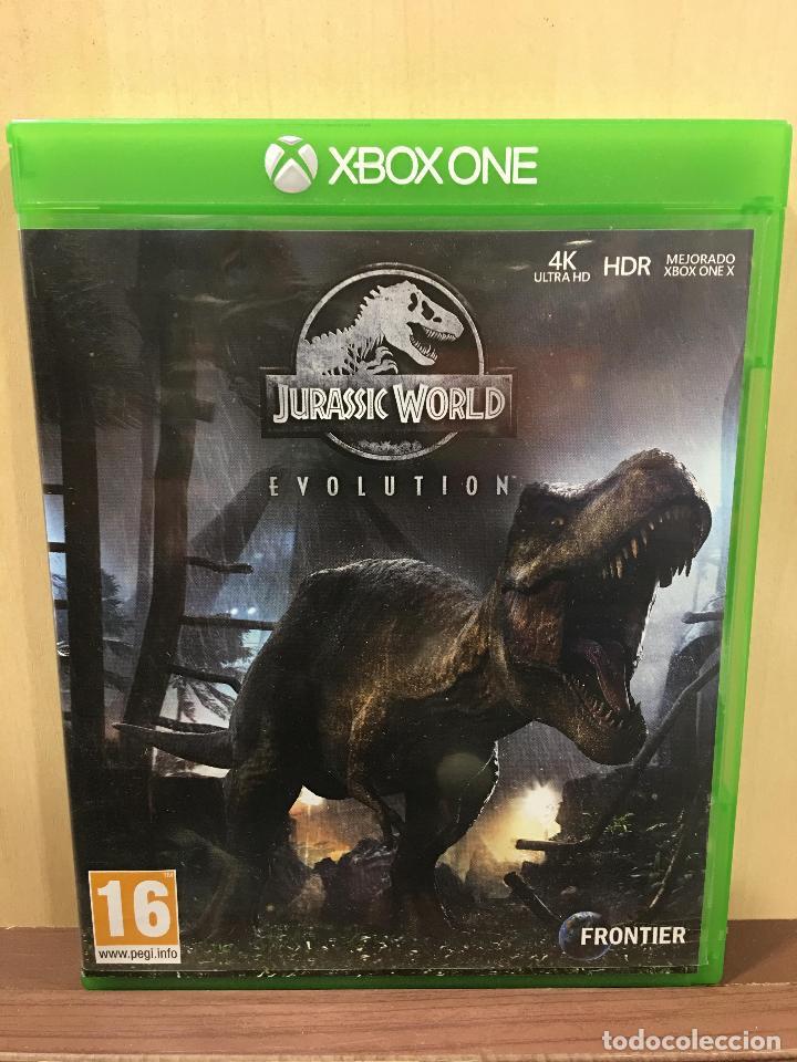 JURASSIC WORLD EVOLUTION - XBOX ONE (2ª MANO - BUENO) (Juguetes - Videojuegos y Consolas - Xbox One)