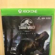 Xbox One: JURASSIC WORLD EVOLUTION - XBOX ONE (2ª MANO - BUENO). Lote 288427918