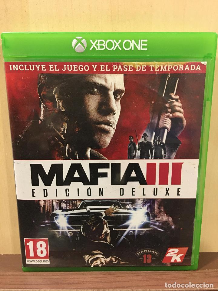 MAFIA III - DELUXE EDITION XBOX ONE (2ª MANO - BUENO) (Juguetes - Videojuegos y Consolas - Xbox One)