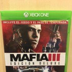 Xbox One: MAFIA III - DELUXE EDITION XBOX ONE (2ª MANO - BUENO). Lote 288427928
