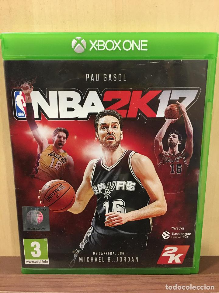 NBA 2K17 - XBOX ONE (2ª MANO - BUENO) (Juguetes - Videojuegos y Consolas - Xbox One)