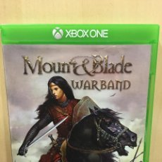 Xbox One: MOUNT AND BLADE WARBAND - XBOX ONE (2ª MANO - BUENO). Lote 288427938