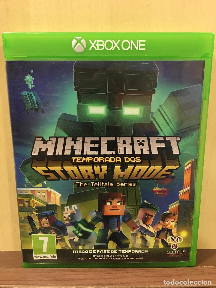 MINECRAFT STORY MODE - SEASON 2 - XBOX ONE (2ª MANO - BUENO) (Juguetes - Videojuegos y Consolas - Xbox One)