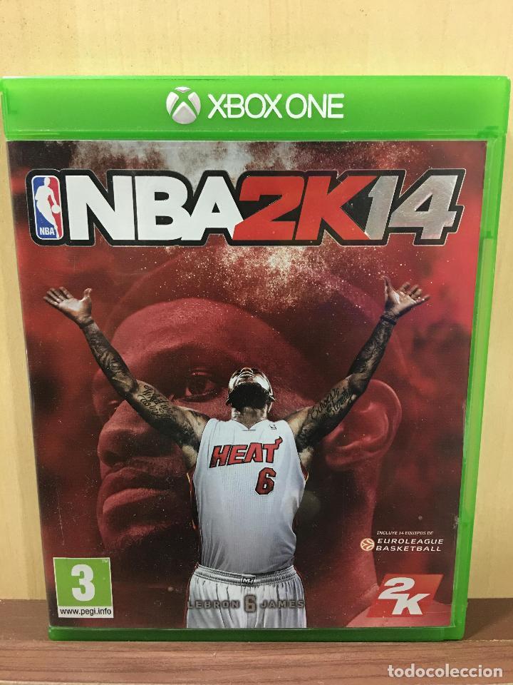 NBA 2K14 - XBOX ONE (2ª MANO - BUENO) (Juguetes - Videojuegos y Consolas - Xbox One)