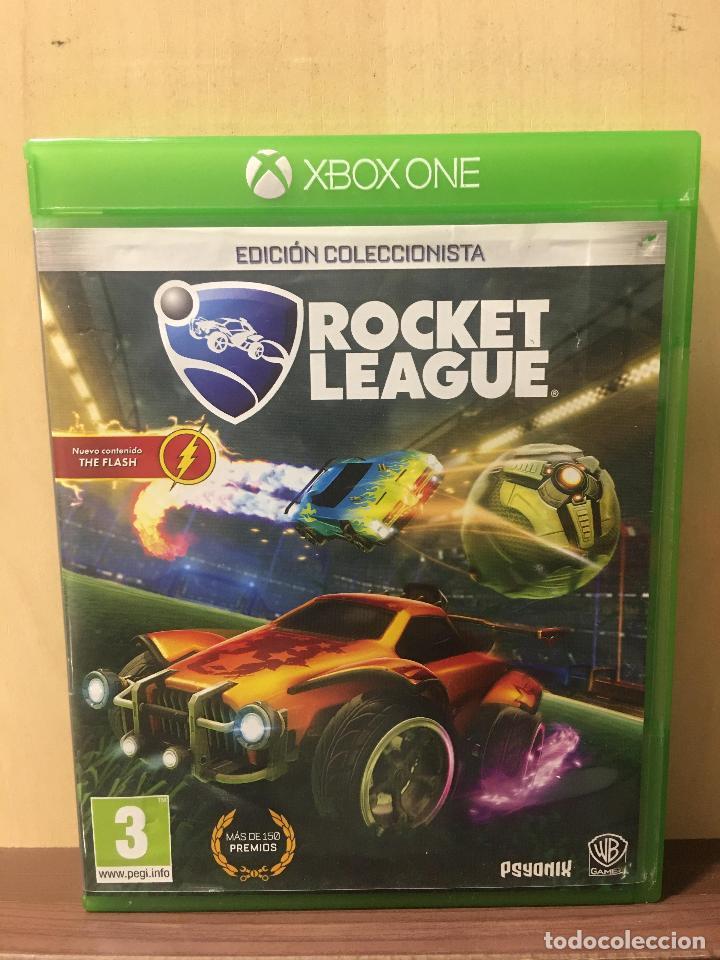 ROCKET LEAGUE COLLECTOR EDITION - XBOX ONE (2ª MANO - BUENO) (Juguetes - Videojuegos y Consolas - Xbox One)