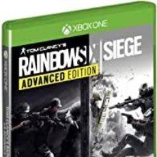 Xbox One: RAINBOW SIX SIEGE ADVANCED EDITION - XBOX ONE (2ª MANO - BUENO). Lote 288427963